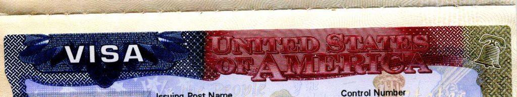 Sample visa page