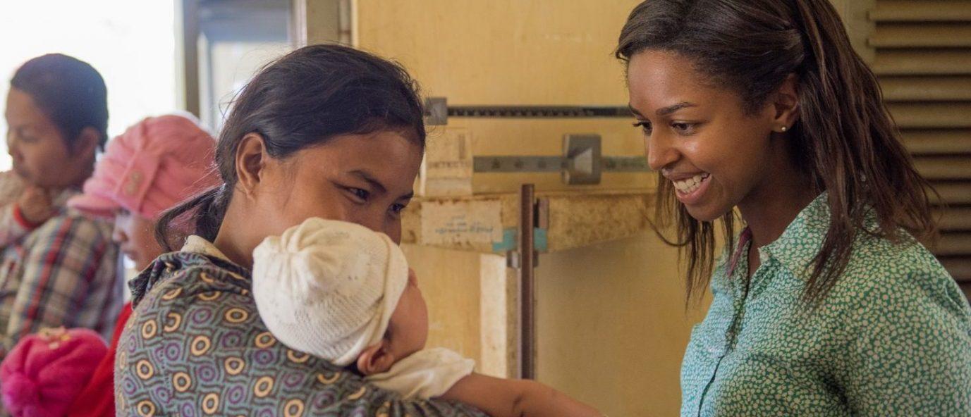 Peace Corps Volunteer in Health