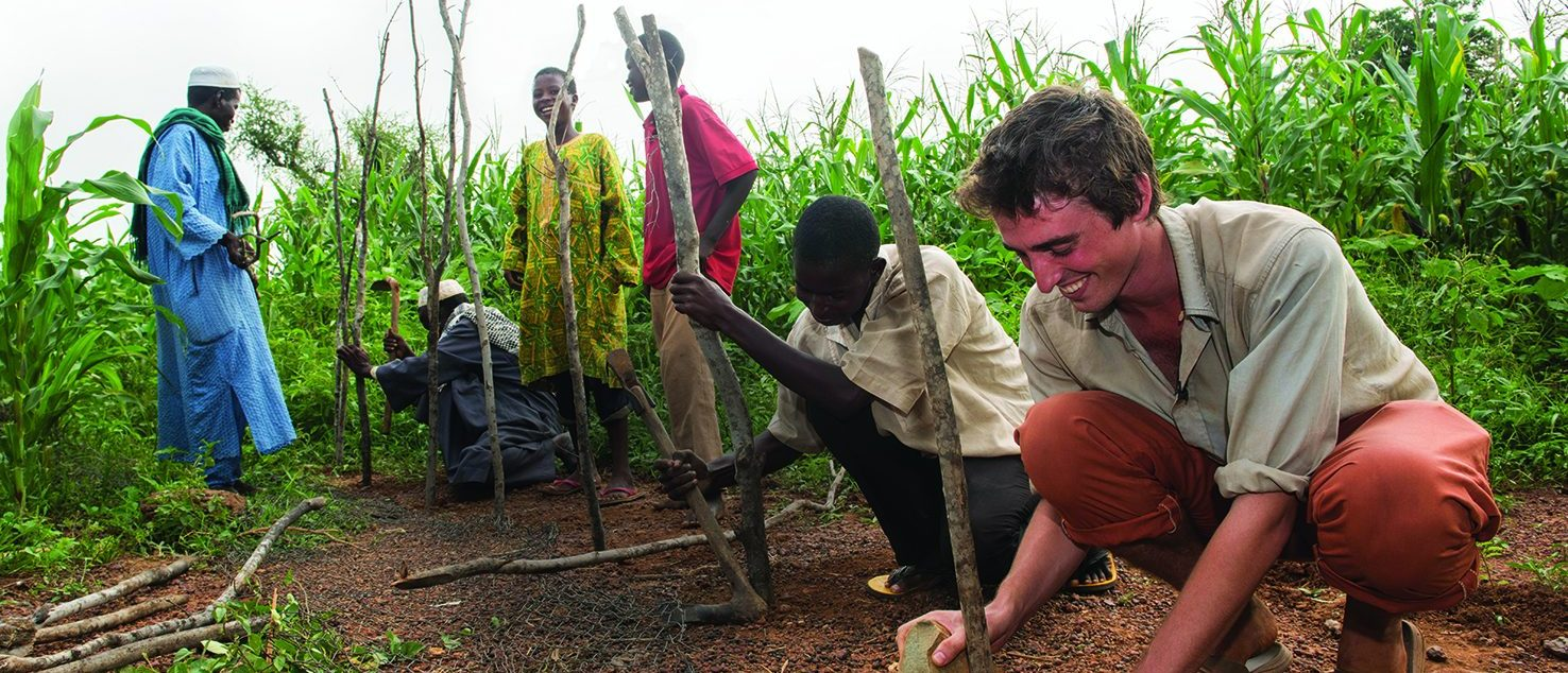 Peace Corps Volunteer in Environment