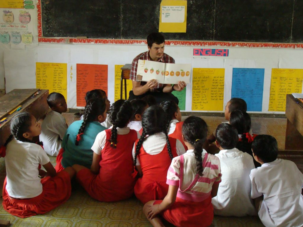 Peace Corps Volunteer in Education