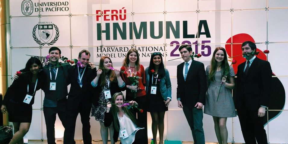 Model UN Conference in Peru