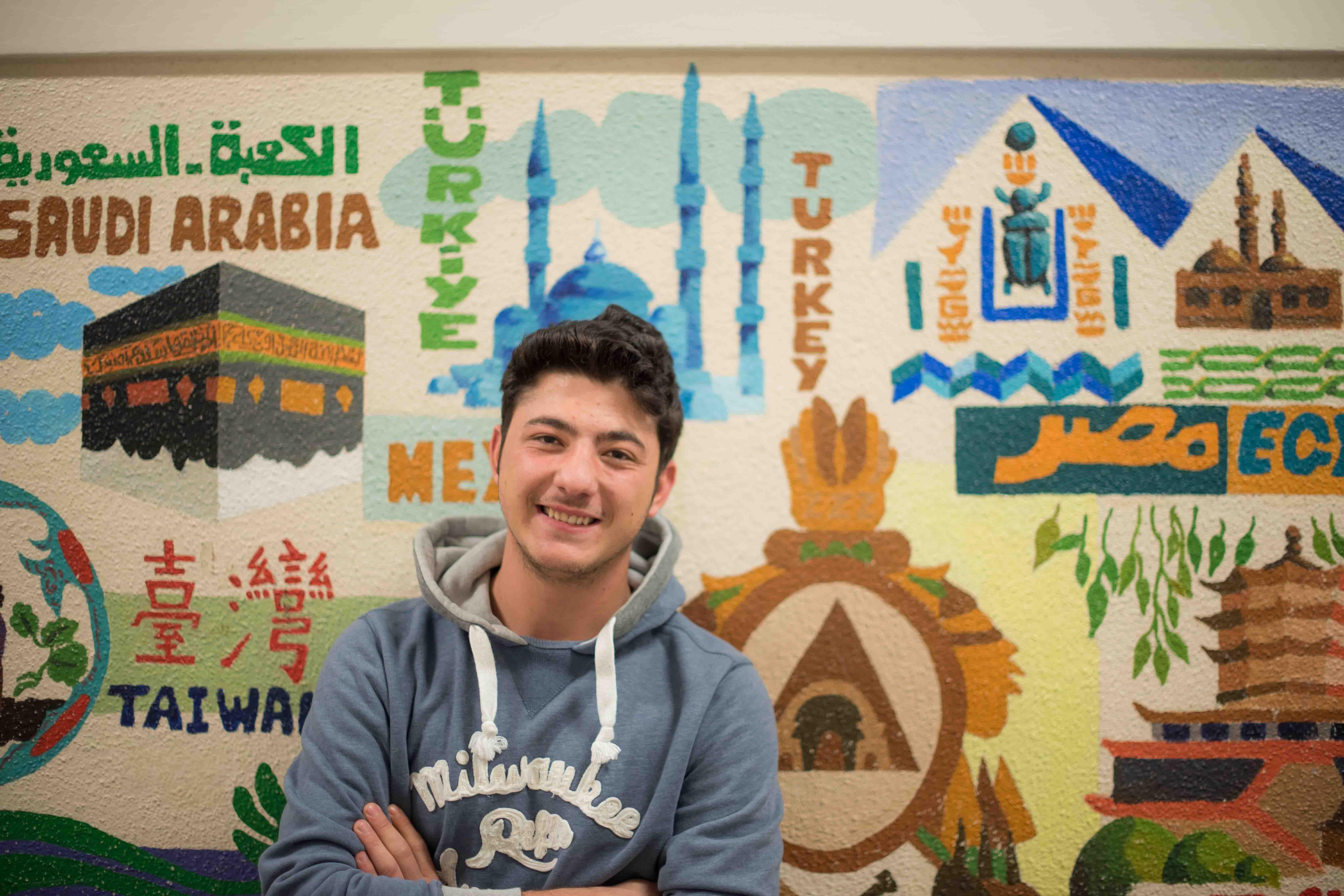 Nazmi from Turkey