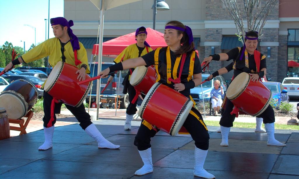Sakura Festival Drummers