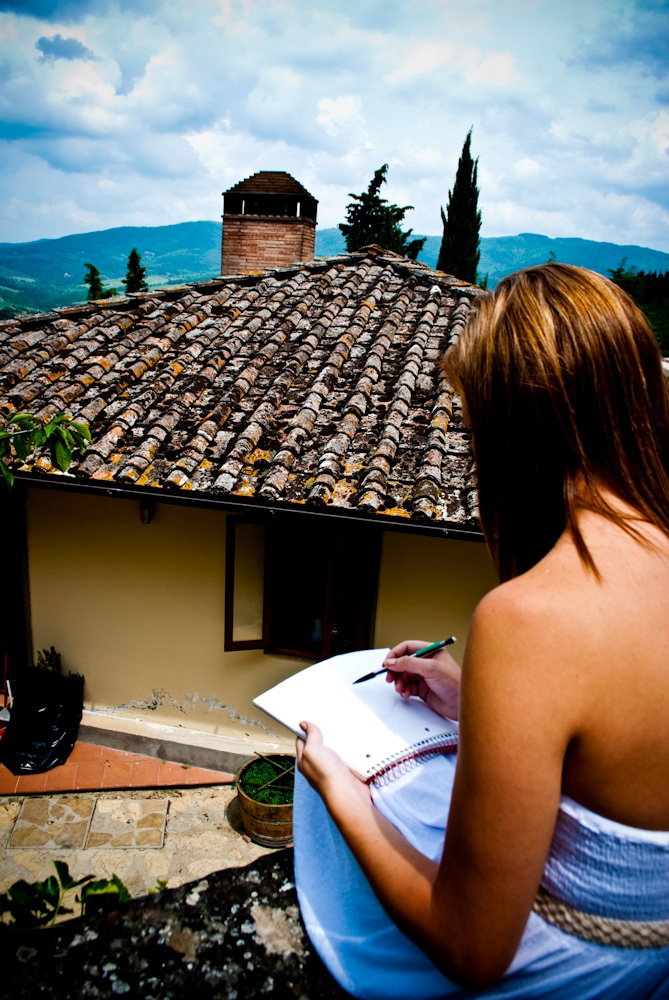 Mallory Clark - Studying on the Italian Countryside - Chianti, Italy - UA in Italy Art History