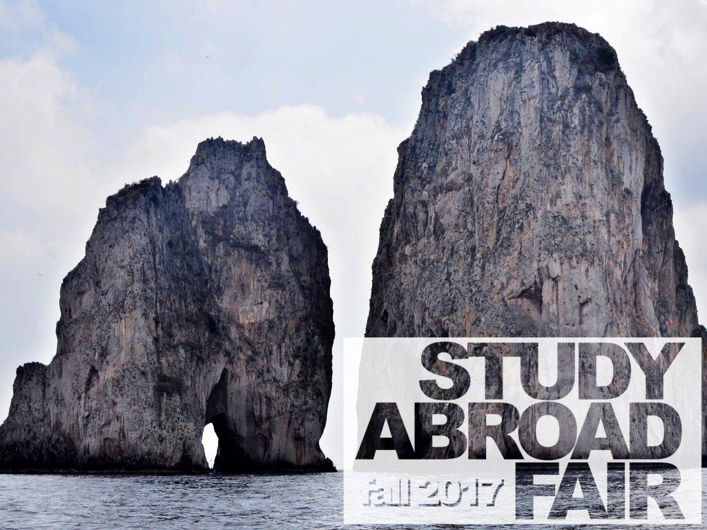 study abroad fair 2017 - capri, italy