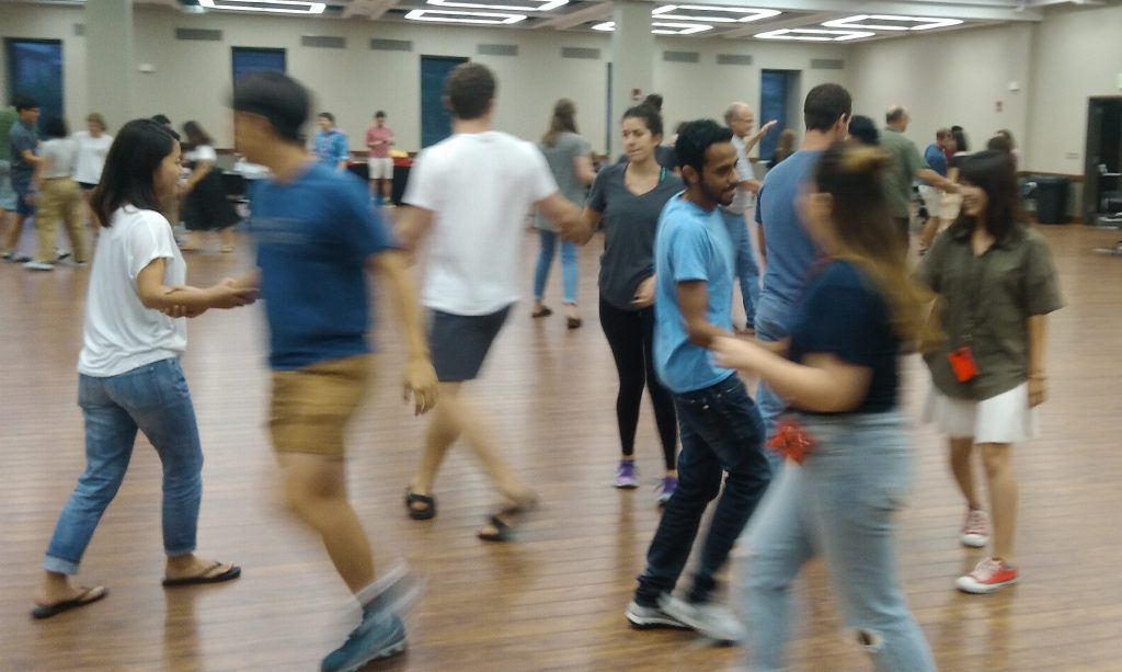 ELI Fall 1 2017 Welcome Activity - Square Dancing