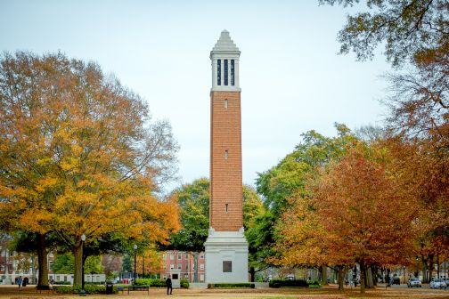 Denny Chimes in fall