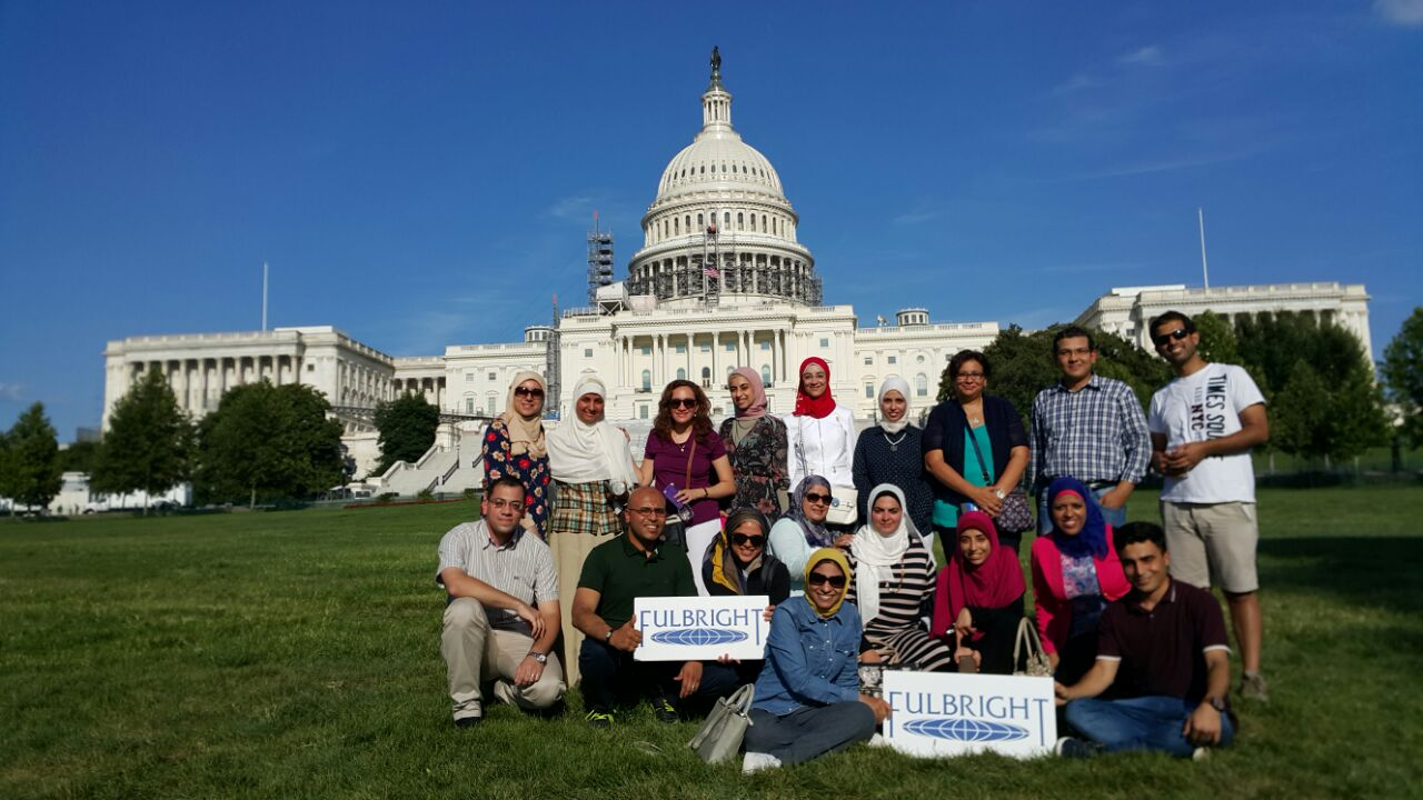 Fulbright students