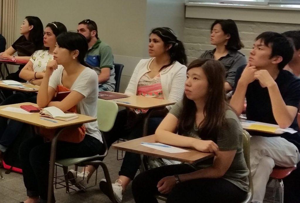 ELI students in class