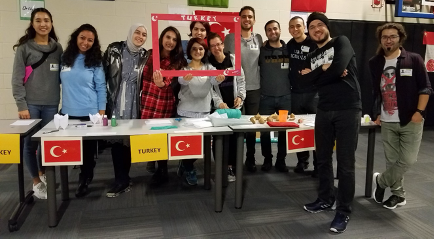 ELI Turkish Students at World Friends Day
